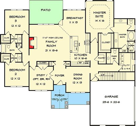 Corner Lot Floor Plans by Corner Lot House Plans With Pool