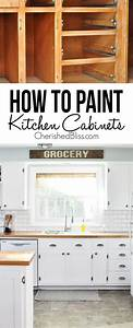 kitchen hack diy shaker style cabinets cherished bliss With what kind of paint to use on kitchen cabinets for lisa audit wall art