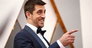Aaron Rodgers was the Oscars red carpet MVP
