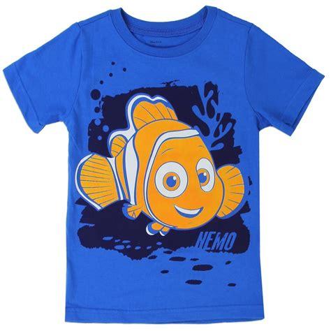 Finding Nemo Blue Toddler Boys Shirt | Houston Kids ...