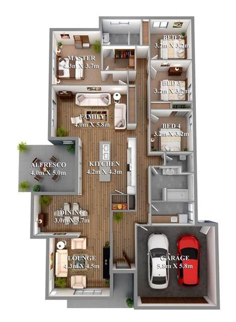 bedroom  home floor plans  garage design denah rumah  kamar tidur denah rumah rumah