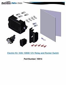 Roll Rite 10914 Electric Kit  With 10698 12v Relay And
