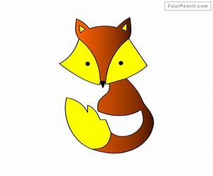 Fpencil: How to draw Fox for kids step by step
