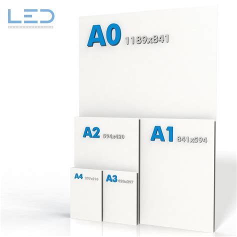 DIN Formate A0 A1 A2 A3 A4   Grössenangaben bei