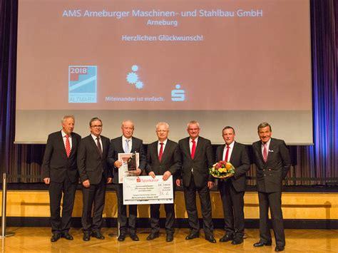Ausgezeichneter Stahlbau 2018 by Ams Mit Dem Wirtschaftspreis Altmark 2018 Ausgezeichnet