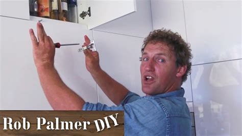 How To Adjust Kitchen Cupboard Doors by How To Adjust Kitchen Cupboard Door Diy Tip