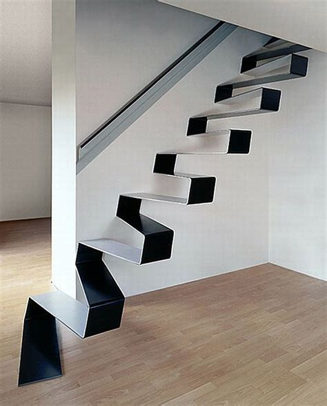 Interesting Staircases 21 of the most interesting floating staircase designs