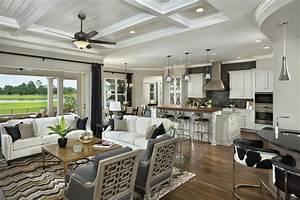 Asheville Model Home Interior Design 1264f - Traditional