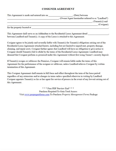 property management forms contracts agreements