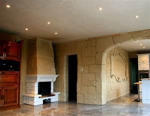 Fausse Pierre Murale Intérieur : decoration murale avec pierre objet dcoration murale piece canvas wall art bouddha avec pierre ~ Preciouscoupons.com Idées de Décoration
