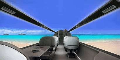 Windowless Jet Ixion Plane Airplane Concept Window