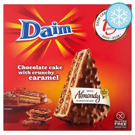 almondy daim chocolate cake  groceries tesco groceries