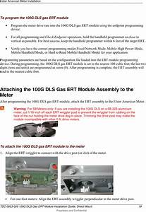 Itron 100gdlas Amr Transceiver Device For Utility Meters