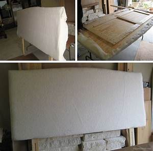 Diy Upholstered Headboard  Good Instructions On How To
