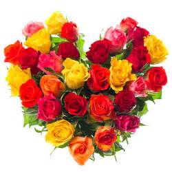Pictures of Hearts and Rose Bouquets