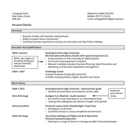 sle customer service resume 10 free