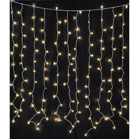 mercury row hillis curtain  ft fairy string lights