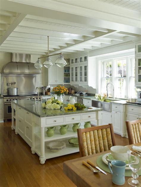 cottage kitchen island kitchen island shelves cottage kitchen cullman kravis