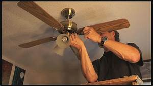 How to repair a ceiling fan s new pull chain and