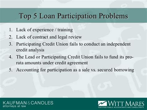 Strategic Loan Participations