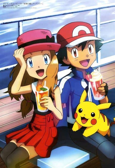 serena ash pikachu x and y anime pok 233 mon