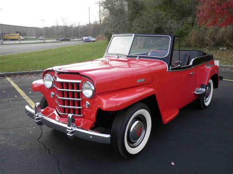 willys jeepster  sale classiccarscom cc