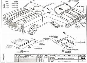 1971 Chevelle Fuse Box Wiring Diagram