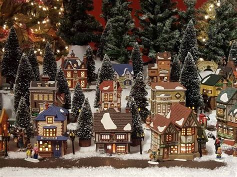miniature dickens christmas village festival collections