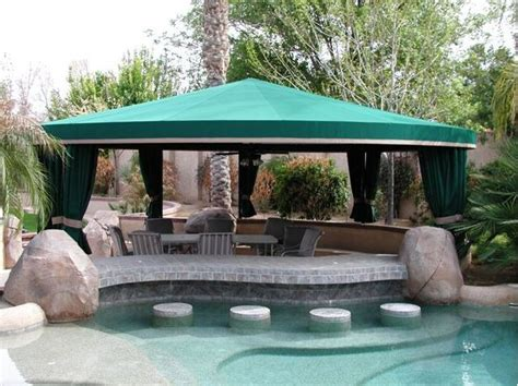 pool side shade traditional pool by