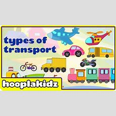 Learn About Transport  Preschool Activity Youtube