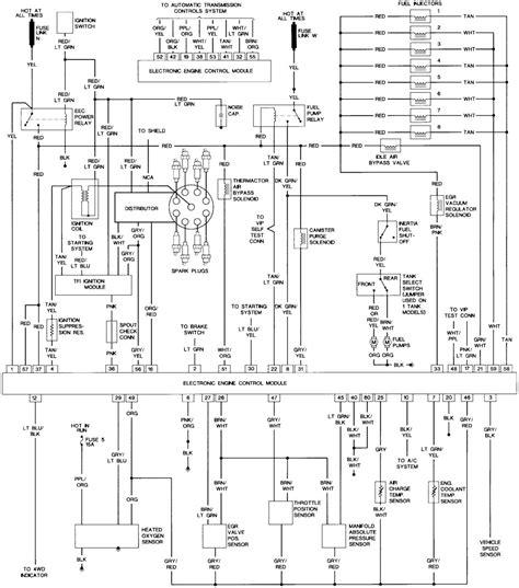 ford  starter electrical diagram wiring diagram