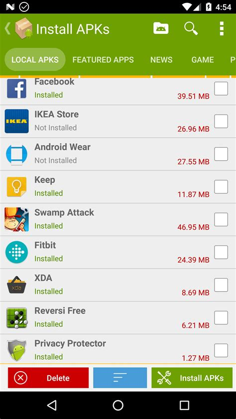 apk installer for android apk