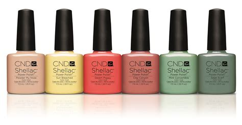 cnd shellac uv gel nail polish open road collection 2014