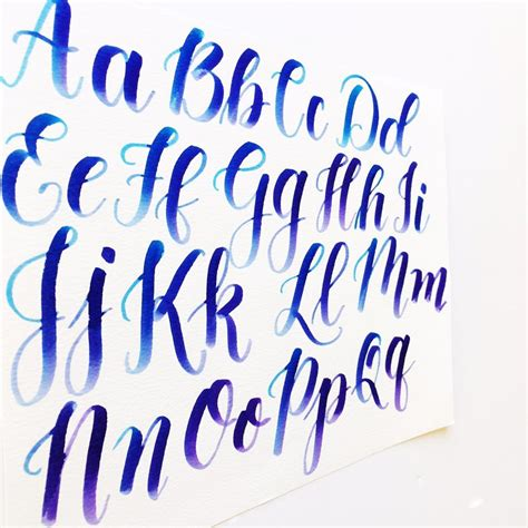 calligraphy  capital letters video freebies