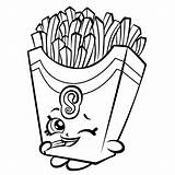 Popcorn Coloring Pages Printable Getcolorings sketch template