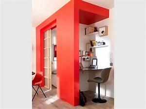 Créer Son Bureau Ikea : petits espaces 10 s parations l g res pour cr er un coin ~ Melissatoandfro.com Idées de Décoration