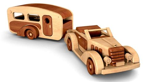 woodworkers toy plan  woody roadster  trailer youtube