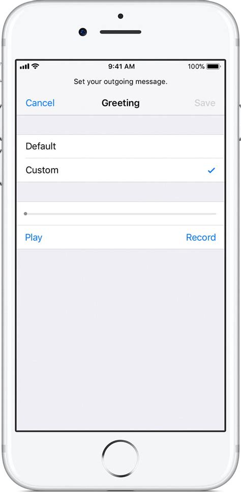 iphone default voicemail greeting how to set up voicemail on an iphone digital trends