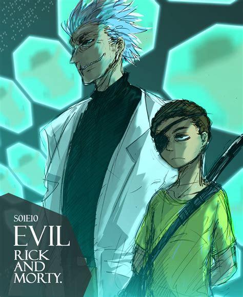 rick and morty fans evil rick and morty by ninevsnine on deviantart