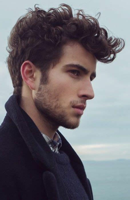 men curly hair ideas  pinterest men curly