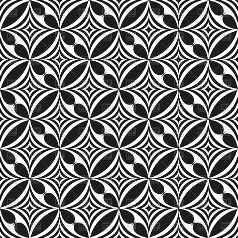 Abstract Black And White Patterns by Black And White Abstract Seamless Pattern With Rounds