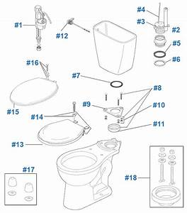 Delta Prelude Toilet Repair  U0026 Replacement Parts