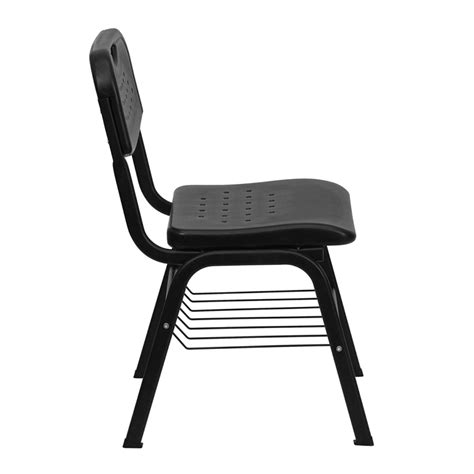 Hercules Plastic Stacking Chairs by Hercules Black Plastic Stack Chair With Black Powder