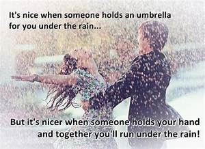 images of love couples in rain with quotes Quotes