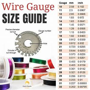 Blog    News     Artistic Wire Gauge Guide  Awg