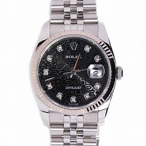 Black Diamond Rolex Watches
