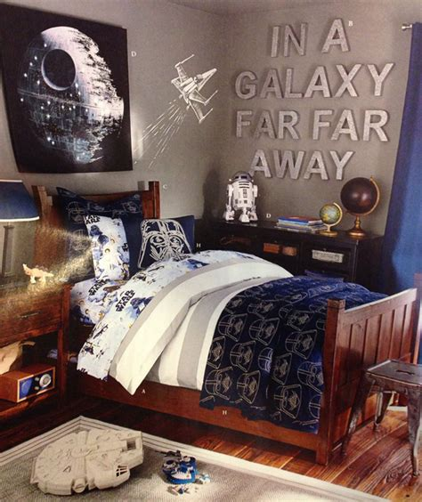 awesome star wars room   boys home design