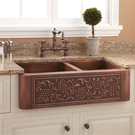33 Angove Double Bowl Cast Iron Farmhouse Sink Kitchen