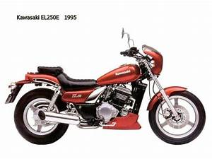Kawasaki Eliminator 250 : 1992 kawasaki el250e moto zombdrive com ~ Medecine-chirurgie-esthetiques.com Avis de Voitures