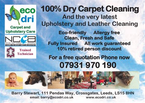 Upholstery Cleaning Meaning by Ecodri Carpet And Upholstery Care Carpet Cleaning In